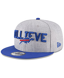 New Era Boys' Buffalo Bills Draft 9FIFTY Snapback Cap