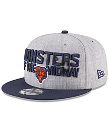 New Era Boys' Chicago Bears Draft 9FIFTY Snapback Cap