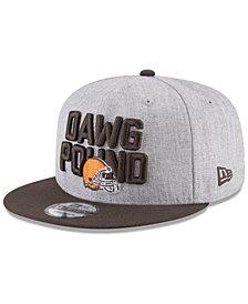 New Era Boys' Cleveland Browns Draft 9FIFTY Snapback Cap