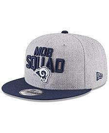 New Era Boys' Los Angeles Rams Draft 9FIFTY Snapback Cap