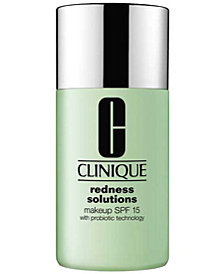 Clinique Redness Solutions Makeup Foundation SPF 15 with Probiotic Technology, 1 oz.