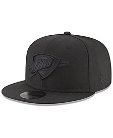 Oklahoma City Thunder Blackout 59FIFTY Fitted Cap