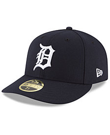 New Era Detroit Tigers Low Profile AC Performance 59FIFTY Fitted Cap