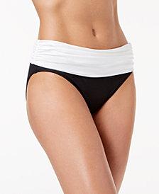 Lauren Ralph Lauren Colorblocked Hipster Bikini Bottoms