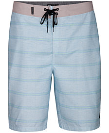 "Hurley Men's Shoreside Stripe 21"" Board Shorts"