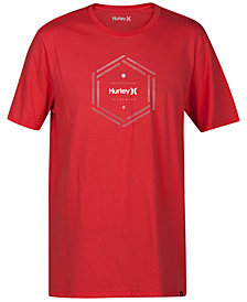 Hurley Men's Multi Hex Logo-Print T-Shirt