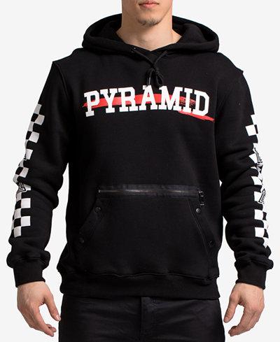 Black Pyramid Men's Graphic-Print Hoodie