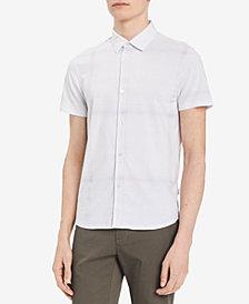 Calvin Klein Men's Block Checked Shirt