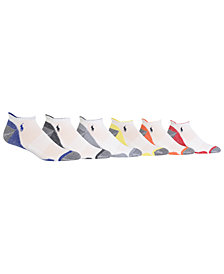 Polo Ralph Lauren Men's 6-Pk. Athletic Low-Cut Socks