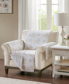 Madison Park Serendipity Reversible Printed Armchair Protector