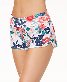 Roxy Juniors' Endless Summer Printed Cover-Up Shorts