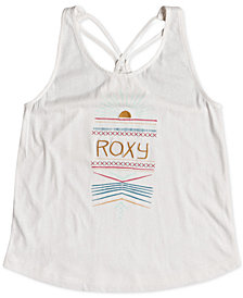 Roxy Graphic-Print Racerback Tank Top, Big Girls