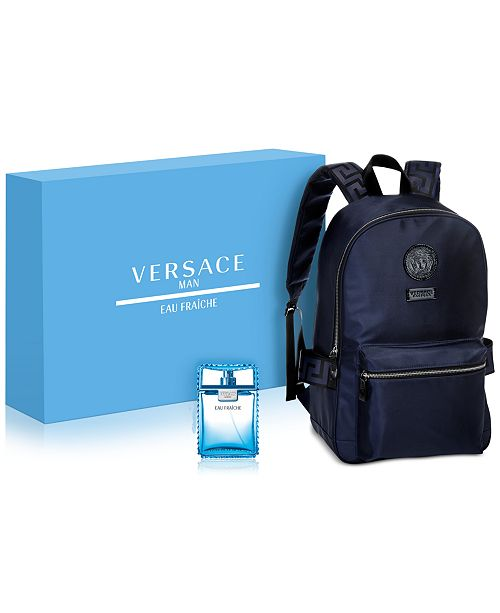 Versace Men s 2-Pc. Eau Fraîche Gift Set - All Perfume - Beauty - Macy s 8327ab9c910af
