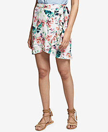Sanctuary Tropicana Printed Wrap Skirt