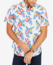 Nautica Men's Tropical-Print Shirt