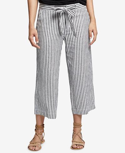 Sanctuary Sasha Linen Cropped Pants