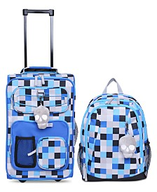 Crckt Kids 2-Pc. Printed Carry-On Suitcase & Backpack Set