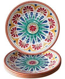 Rio Medallion Salad Plate, Set of 4