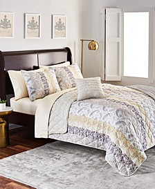 Brentwood 5-Pc. Full/Queen Quilt Set