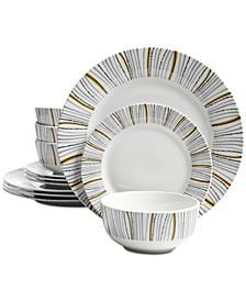 Classic 12-Pc. Dinnerware Set, Service for 4
