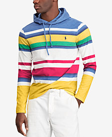 Polo Ralph Lauren Men's CP-93 Striped Hoodie, Created for Macy's