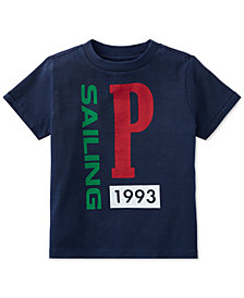 Polo Ralph Lauren Toddler Boys CP-93 Cotton Jersey Graphic T-Shirt