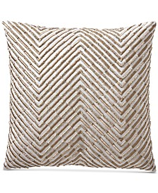 """Hotel Collection Opalescent 18"""" Square Decorative Pillow, Created for Macy's"""