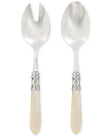 VIETRI Aladdin Brilliant 2-Pc. Salad Server Set