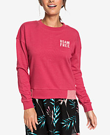 Roxy Juniors' Scene Shifter Graphic-Print Sweatshirt