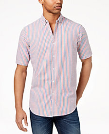 Club Room Men's Seersucker Shirt, Created for Macy's