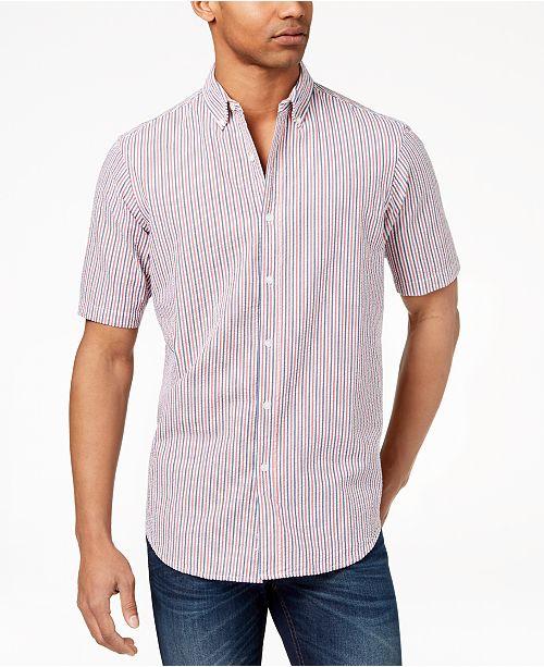 d75f818cebd2 Club Room Men s Seersucker Shirt