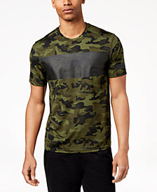 ID Ideology Men's Camo-Print Mesh T-Shirt, Created for Macy's