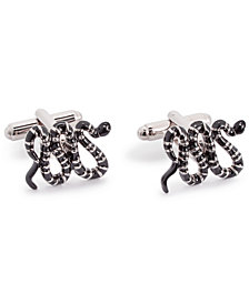 the GIFT Men's Snake Cuff Links