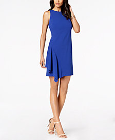 Vince Camuto Ruffled A-Line Dress