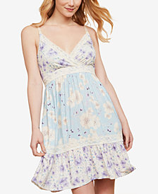 Jessica Simpson Babydoll Clip-Down Nursing Nightgown