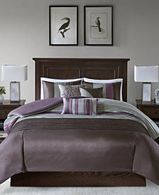 Madison Park Amherst 6-Pc. Full/Queen Duvet Cover Set