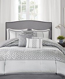 Addison 7-Pc. California King Comforter Set