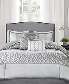 Madison Park Bennett 7-Pc. Queen Comforter Set