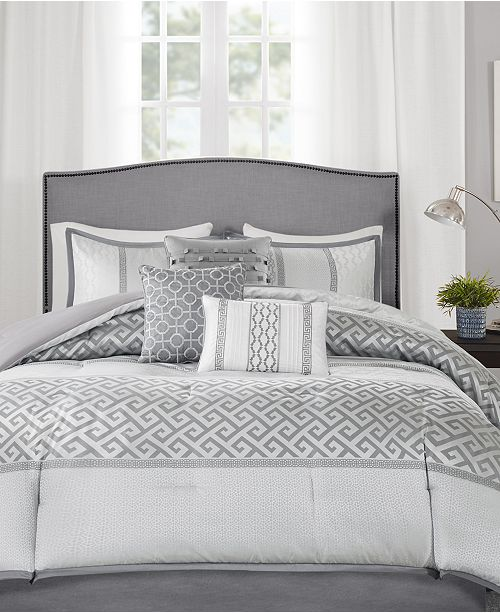 Madison Park Addison 7-Pc. Queen Comforter Set