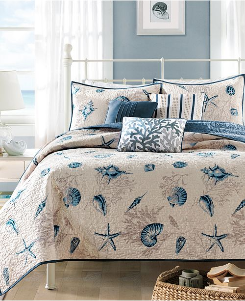 Madison Park Bayside 5-Pc. Quilted Twin/Twin XL Coverlet Set