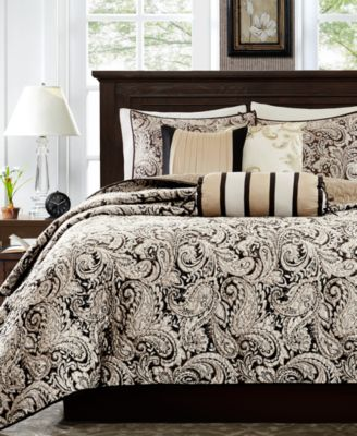 Aubrey 6-Pc. Quilted Full/Queen Coverlet Set