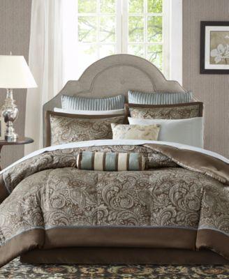 Adeline 12-Pc. Full Comforter Set