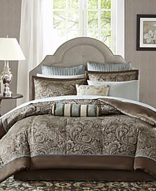 Adeline 12-Pc. Queen Comforter Set