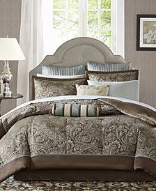 Madison Park Aubrey 12-Pc. California King Comforter Set