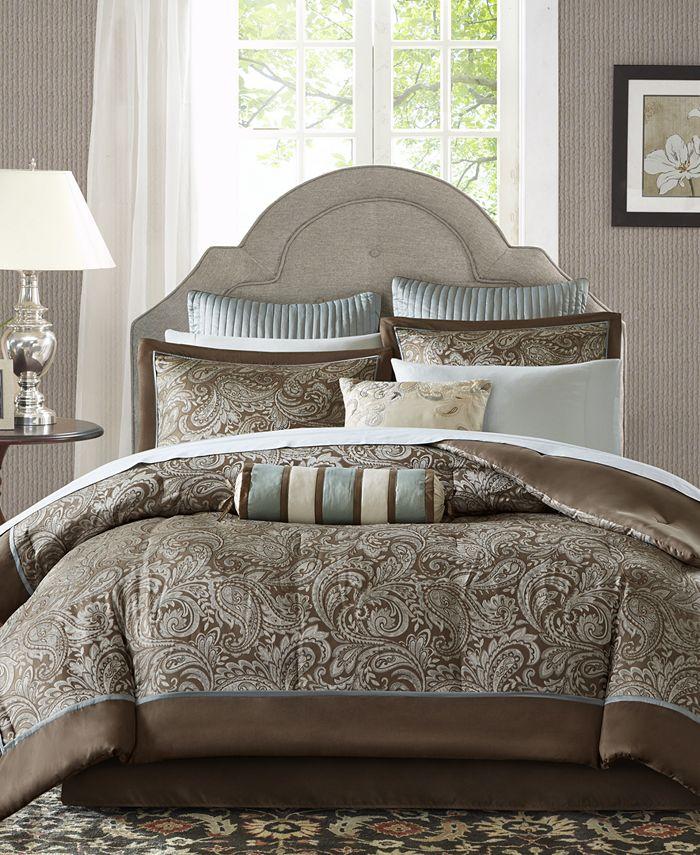 Madison Park - Aubrey 12-Pc. King Comforter Set