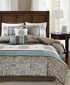 Madison Park Caroline Queen 7-Pc. Comforter Set