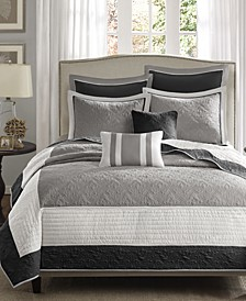Attingham 7-Pc. King/California King Coverlet Set
