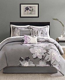 Serena 7-Pc. Queen Comforter Set