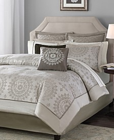 Tiburon 12-Pc. Queen Comforter Set