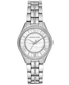 Michael Kors Women's Mini Lauryn Stainless Steel Bracelet Watch 33mm
